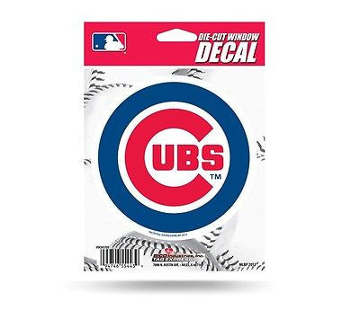 "Chicago Cubs 5"" x 5"" Die-Cut Decal NEW!! MLB Car or Laptop"