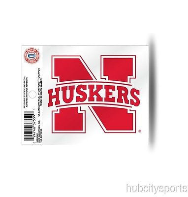 Nebraska Cornhuskers Small Window Cling