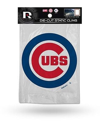 Chicago Cubs Die Cut Static Cling Decal Sticker 5 X 5 NEW!! Car Window MLB