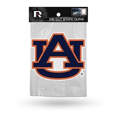 Auburn Tigers Die Cut Static Cling Decal Sticker 5 X 5 NEW! Car Window