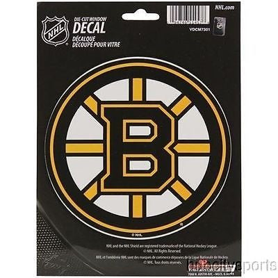 Boston Bruins Die Cut Decal NEW!! 5 X 5 Window, Car or Laptop!