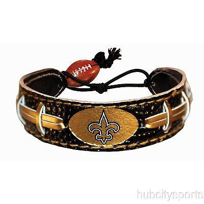 New Orleans Saints Team Color NFL Football Bracelet