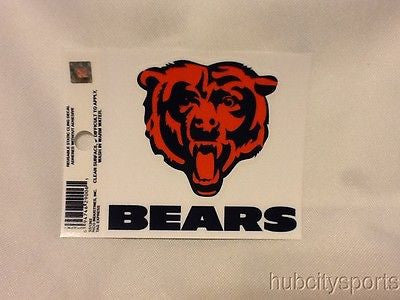 Chicago Bears Window Cling Decal