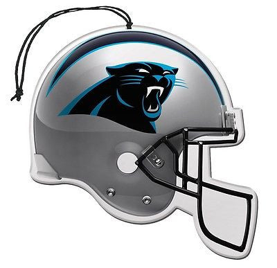 Carolina Panthers Helmet Air Freshener Nu-Car Scent 3 Pack Car Truck NFL NEW!