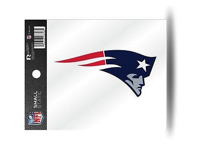 New England Patriots Logo Static Cling Sticker NEW! Window! Tom Brady