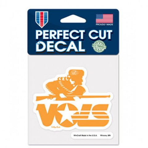 Tennessee Volunteers Retro Logo Die Cut Decal Stickers Perfect Cut 3x3 inches