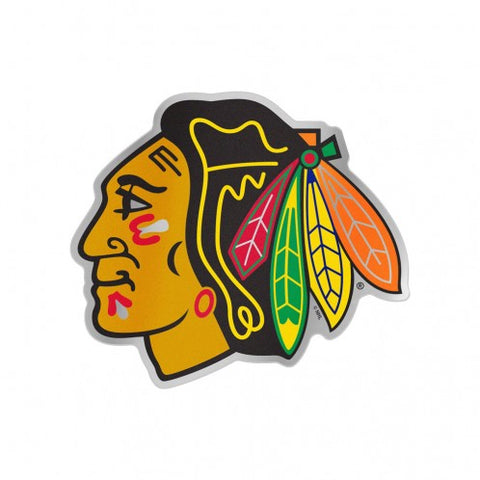Chicago Blackhawks Logo Auto Badge Decal Sticker NEW Truck Car