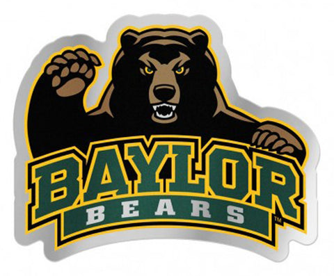 Baylor Bears Logo Auto Badge Decal Sticker NEW Truck Car