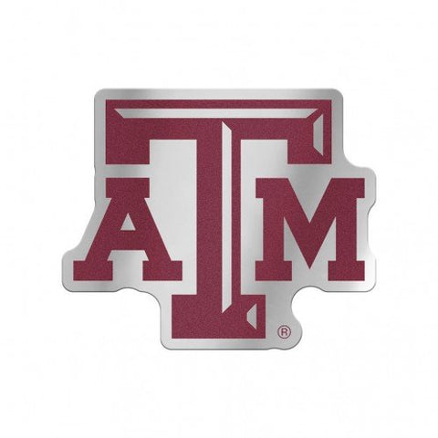 Texas A&M Aggies Logo Auto Badge Decal Sticker NEW Truck Car