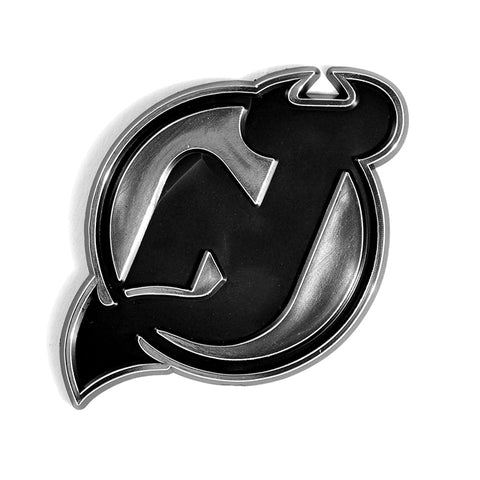 New Jersey Devils Logo 3D Chrome Auto Emblem NEW!! Truck or Car!  NHL