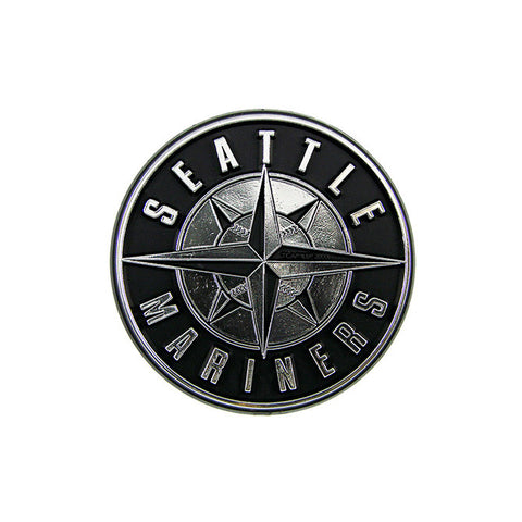 Seattle Mariners Logo 3D Chrome Auto Decal Sticker NEW! Truck or Car