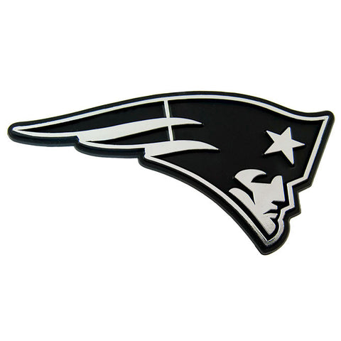 New England Patriots Logo 3D Chrome Auto Decal Sticker NEW! Truck Car