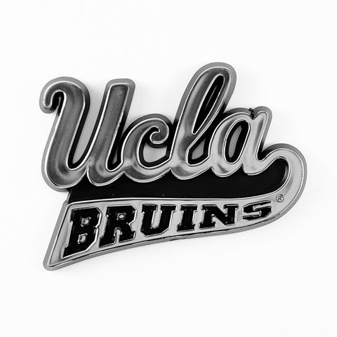 UCLA Bruins Logo 3D Chrome Auto Decal Sticker NEW! Truck or Car