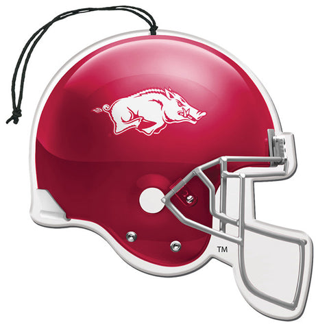 Arkansas Razorbacks Helmet Air Freshener Nu-Car Scent 3 Pack Car Truck NEW!!!