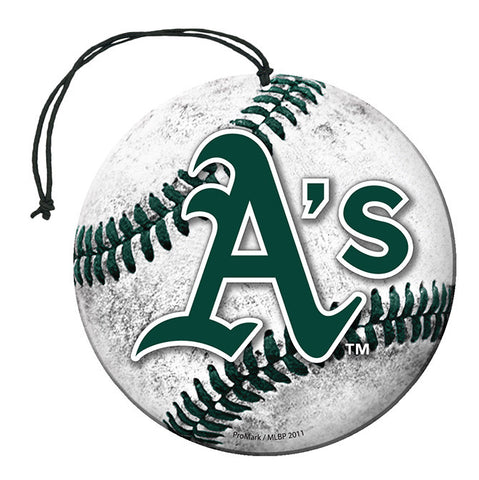 Oakland Athletics Baseball Air Freshener Nu-Car Scent 3 Pack Car Truck NEW!!