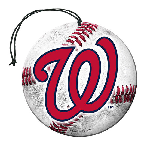 Washington Nationals Baseball Air Freshener Nu-Car Scent 3 Pack Car Truck NEW!!