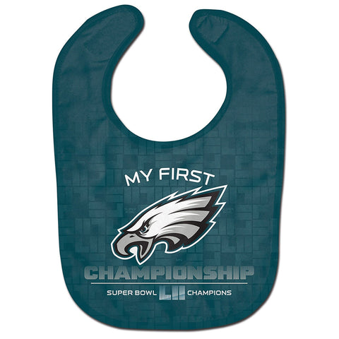 Philadelphia Eagles Super Bowl 52 Champions Bib My First Championship