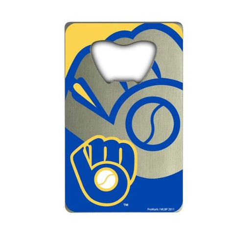 Milwaukee Brewers Credit Card Style Bottle Opener MLB NEW!! Free Shipping!!!