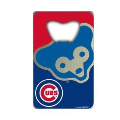 Chicago Cubs Credit Card Style Bottle Opener MLB NEW!! Free Shipping!!!