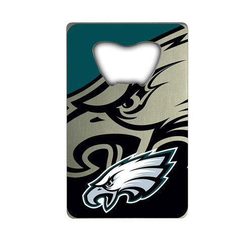 Philadelphia Eagles Credit Card Style Bottle Opener NFL NEW!! Free Shipping 3x2 Inches