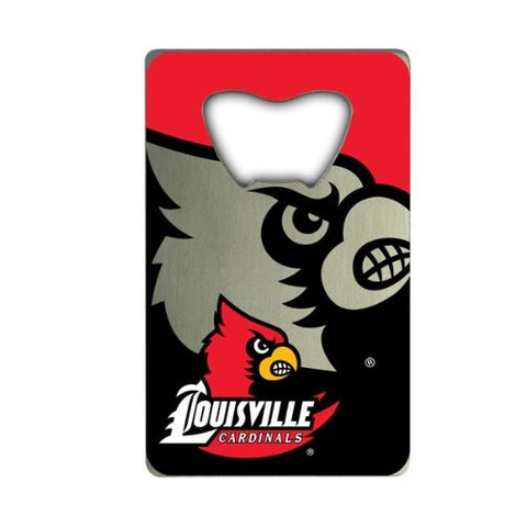 Louisville Cardinals Credit Card Style Bottle Opener NEW!! Free Shipping!!!