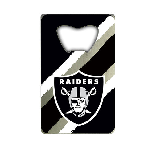Oakland Raiders Credit Card Style Bottle Opener NEW!! Free Shipping!!!
