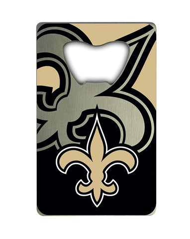 New Orleans Saints Credit Card Style Bottle Opener NFL NEW!! Free Shipping 2x3 Inches