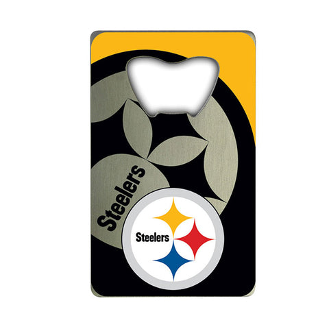 Pittsburgh Steelers Credit Card Style Bottle Opener NEW!! Free Shipping!!!