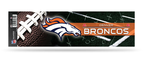 Denver Broncos Bumper Sticker NEW!! 3 x 11 Inches Free Shipping! Rico