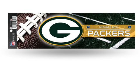 Green Bay Packers Bumper Sticker NEW!! 3 x 11 Inches Free Shipping! Rico