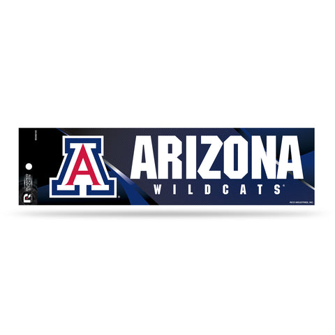 Arizona Wildcats Bumper Sticker NEW!! 3x11 Inches Free Shipping! Rico
