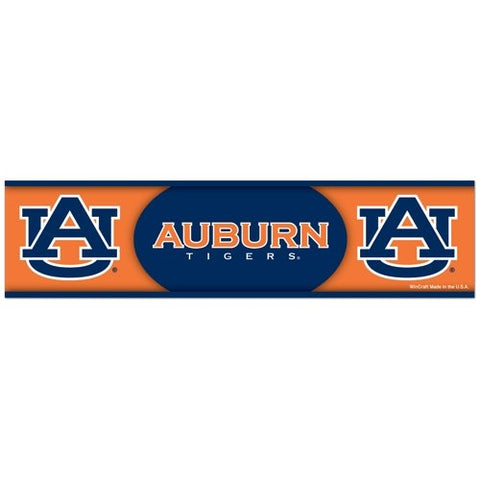 Auburn Tigers Bumper Sticker NEW!! 3 x 11 Inches Free Shipping! Wincraft