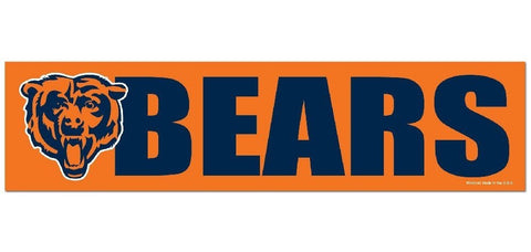 Chicago Bears Bumper Sticker NEW!! 3 x 11 Inches Free Shipping!