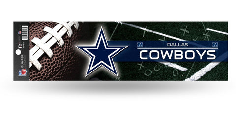 Dallas Cowboys Bumper Sticker NEW!! 3 x 11 Inches Free Shipping! Rico