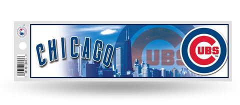 Chicago Cubs Bumper Sticker NEW!! 3 x 11 Inches Free Shipping! Rico
