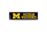 Michigan Wolverines Bumper Sticker NEW!! 3 x 11 Inches Free Shipping! Rico