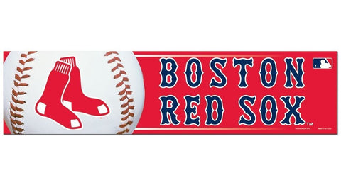 Boston Red Sox Bumper Sticker NEW!! 3 x 11 Inches Free Shipping!