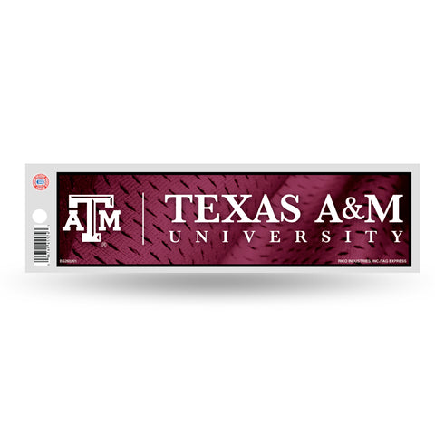 Texas A&M Aggies Bumper Sticker NEW!! 3x11 Inches Free Shipping! Rico