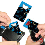 Carolina Panthers Credit Card Style Bottle Opener NFL NEW!! Free Shipping 3x2 Inches