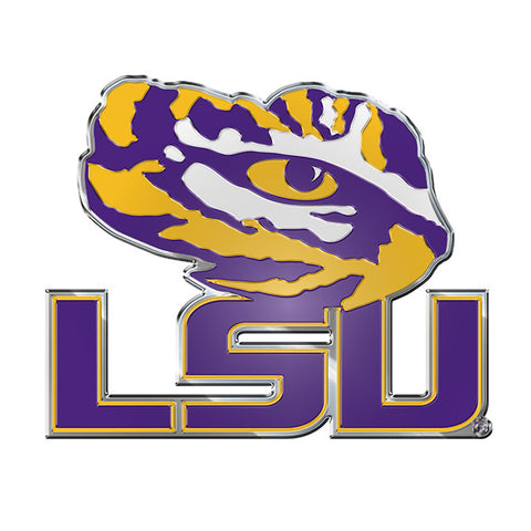 LSU Tigers Logo 3D Color Auto Emblem NEW!! Truck or Car!
