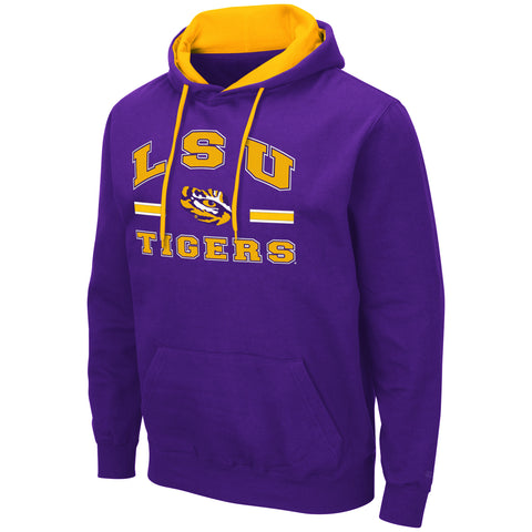 LSU Tigers Purple Hoodie Sizes S-2XL Free Shipping Comic