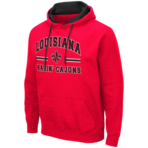 Louisiana Ragin Cajuns Red Hoodie Sizes S-2XL Free Shipping Comic