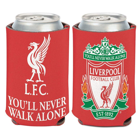 Liverpool FC Can Koozie Holder Free Shipping! NEW! Collapsible