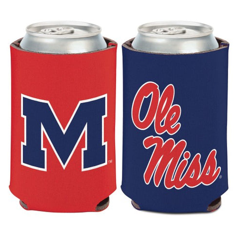 Ole Miss Rebels Can Koozie Holder Free Shipping! NEW! Collapsible Mississippi