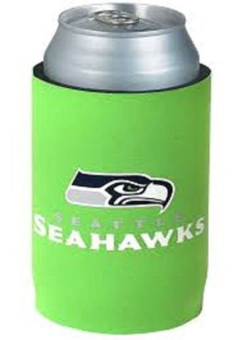 Seattle Seahawks Can Koozie Holder Free Shipping! NEW! Collapsible