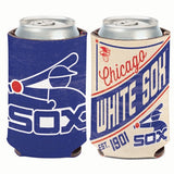 Chicago White Sox Retro Logo Can Koozie Holder Free Shipping! NEW! Collapsible