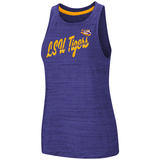 LSU Tigers Womens Tank Top Shirt Purple Free Shipping!