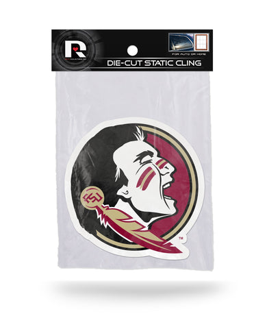 Florida State Seminoles Die Cut Static Cling Decal Sticker 5 X 5 NEW!! Car Window