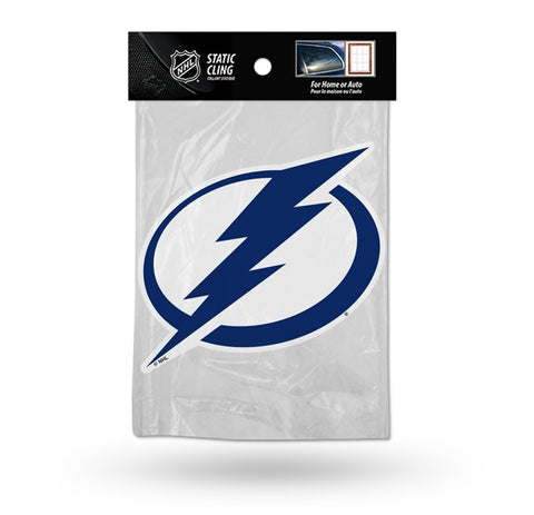 Tampa Bay Lightning Die Cut Static Cling Decal Sticker 5 X 5 NEW!! Car Window