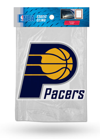 Indiana Pacers Die Cut Static Cling Decal Sticker 5 X 4 NEW Car Window